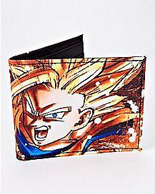 Super Saiyan Goku Bifold Wallet - Dragon Ball FighterZ