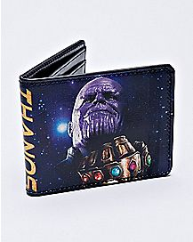 Galaxy Thanos Bifold Wallet - Marvel