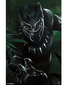 T'Challa Black Panther Poster - Marvel