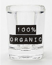 Square 100 Organic Shot Glass 2 oz.