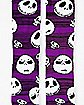 Striped Jack Skellington Crew Socks - The Nightmare Before Christmas