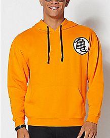 Kame Symbol Orange Hoodie - Dragon Ball Z