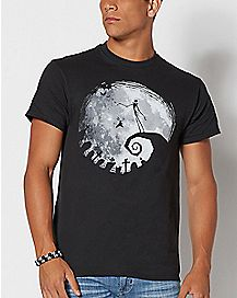 Moon Song Jack Skellington T Shirt - The Nightmare Before Christmas