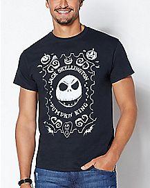 Pumpkin King Jack Skellington T Shirt - The Nightmare Before Christmas