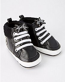 Jack Skellington High Top Baby Shoes - The Nightmare Before Christmas