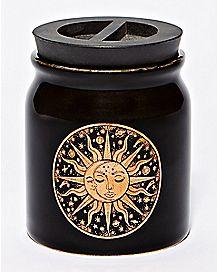 Sun Moon Storage Jar - 6 oz.