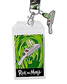 Portal Gun Lanyard - Rick and Morty