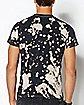 Bleach Dyed Wu-Tang T Shirt