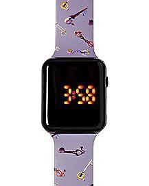 LED Kingdom Hearts Toss Keys Watch - Disney