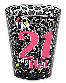 Buy Me A Shot 21 Shot Glass - 2 oz.