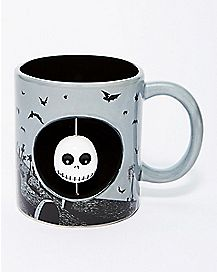 Spinner Jack Skellington Coffee Mug 20 oz. - The Nightmare Before Christmas