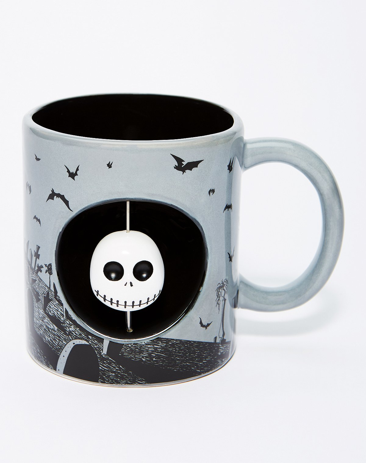 Spencer's Spinner Jack Skellington Coffee Mug