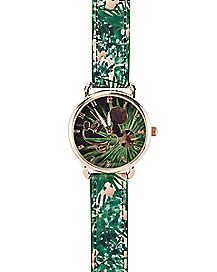 Floral Mickey Watch - Disney