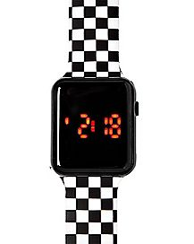 LED Checkerboard Watch