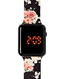LED Floral Watch