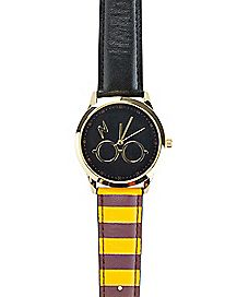 Gryffindor Striped Watch - Harry Potter