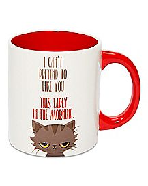 Early In The Morning Cat Coffee Mug - 20 oz.