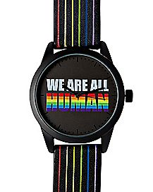 We Are All Human Pride Analog Watch