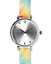 Tie Dye Analog Watch