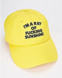 5e8b518675a I m A Ray of Fucking Sunshine Dad Hat