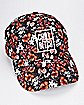 Floral Chill Bitch Dad Hat