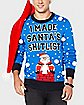 Santa's Shitlist Ugly Christmas Sweater