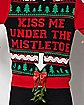 Kiss Me Mistletoe Light Up Ugly Christmas Sweater