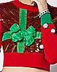 Light-Up Present Ugly Christmas Sweater