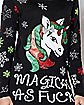 Magical as Fuck Light Up Ugly Christmas Sweater