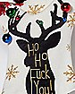 Light Up Ho Ho Fuck You Ugly Christmas Sweater