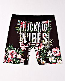 Floral Fucking Vibes Boxers