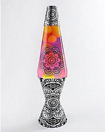 Mono Henna Lava Lamp - 17 Inch
