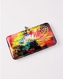 Cosmic Buddha Hinge Wallet