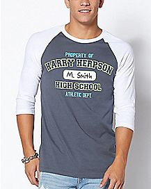 Property Of Harry Herpson High School T Shirt - Rick and Morty
