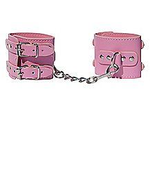 Pink Buckle Cuffs