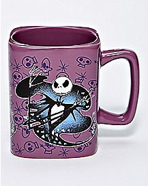 Square Jack Skellington Coffee Mug 18 oz. - The Nightmare Before Christmas