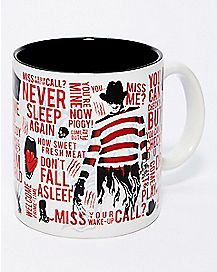 Freddy Krueger Coffee Mug 20 oz. - Nightmare On Elm Street