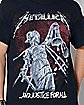 Justice For All Metallica T Shirt