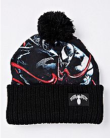 Pom Venom Beanie Hat - Marvel
