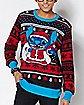 Santa Stitch Ugly Christmas Sweater - Disney