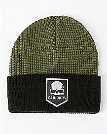 Green Call of Duty Beanie Hat