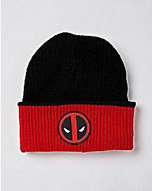 Reversible Deadpool Beanie Hat - Marvel