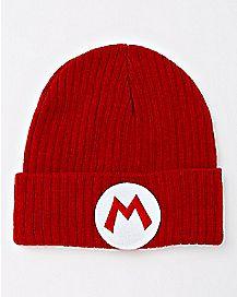 Mario Cuff Beanie Hat - Super Mario Bros.