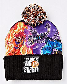 Beerus and Goku Beanie Hat - Dragon Ball Super