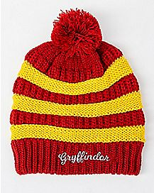 Slouchy Gryffindor Beanie Hat - Harry Potter
