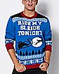 Ride My Sleigh Tonight Ugly Christmas Sweater