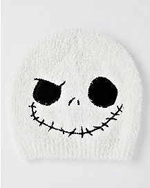 Face Jack Skellington Beanie Hat - The Nightmare Before Christmas