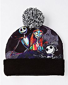 The Nightmare Before Christmas Pom Beanie Hat - Disney