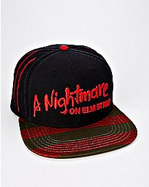 A Nightmare On Elm Street Snapback Hat