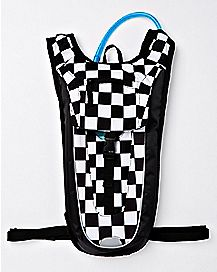 Checkered Hydration Backpack